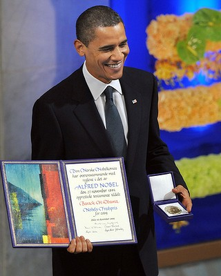 Obama wins the Nobel Peace Prize